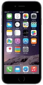 Apple iPhone 6 Plus 16Gb серый
